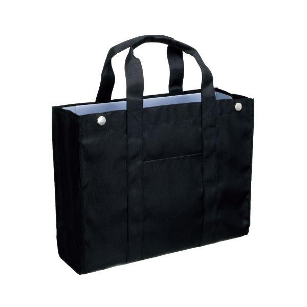(まとめ)サクラクレパス オフィストートバッグ UNT-A4#49 ブラック【×30セット】