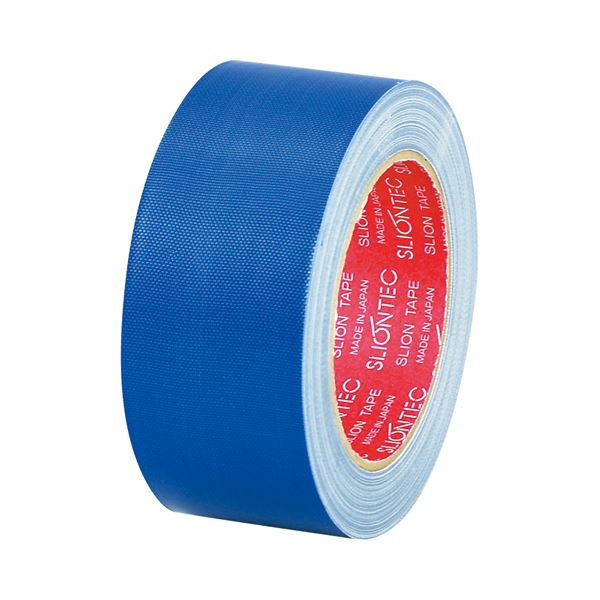 (まとめ) スリオンテック 布粘着テープ No.3390 50mm×25m 紺 No.3390-50NB 1巻 【×30セット】