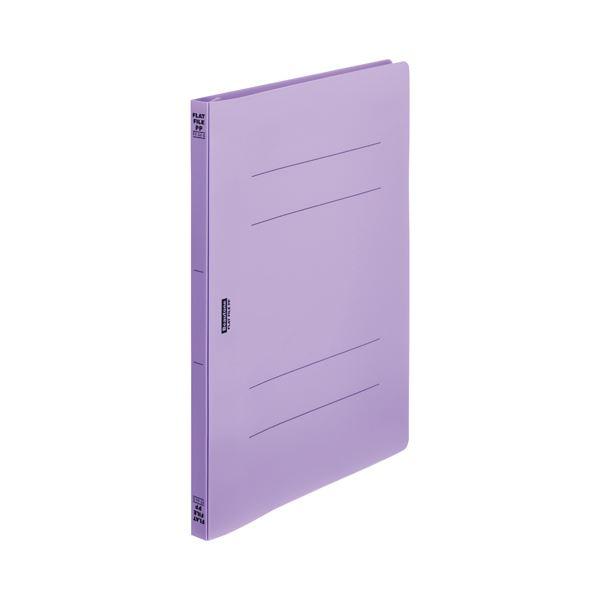 (まとめ)ビュートン フラットファイルPP A4S 紫 FF-A4S-VL【×200セット】