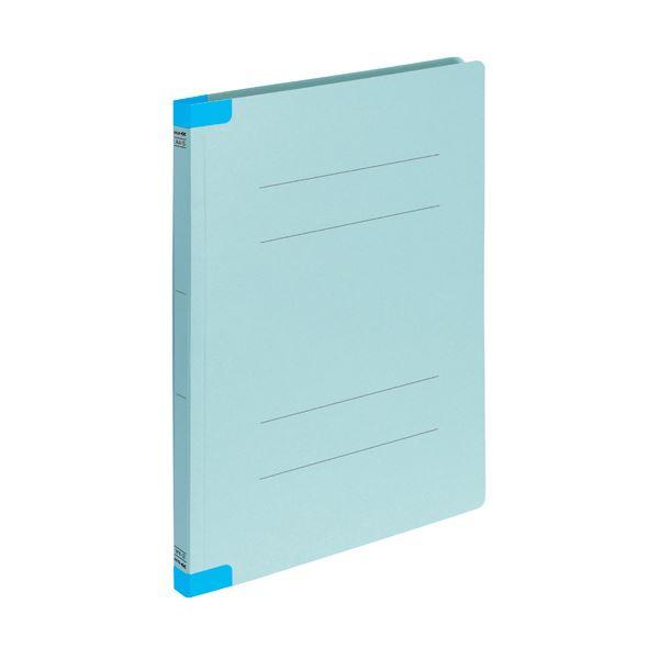 (まとめ) コクヨフラットファイルK2(背補強タイプ) A4タテ 青 K2フ-BR10BX10 1パック(10冊) 【×30セット】
