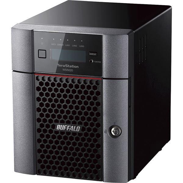 Windows Server IoT 2019 for Storage WorkgroupEdition搭載 4ベイデスクトップNAS 8TB WS5420DN08W9