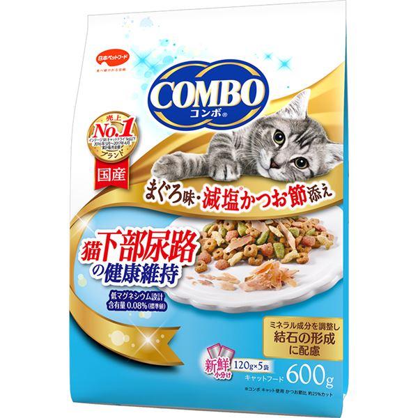 (まとめ)コンボ キャット 猫下部尿路の健康維持 600g【×12セット】【ペット用品・猫用フード】
