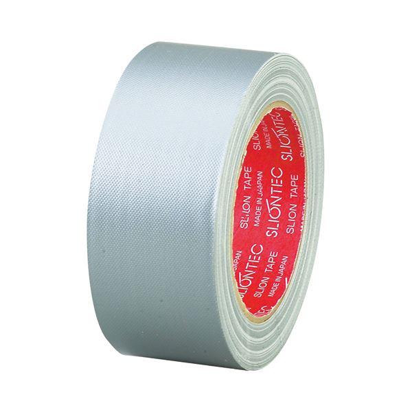 (まとめ) スリオンテック 布粘着テープ No.3390 50mm×25m シルバー No.3390-50SI 1巻 【×30セット】