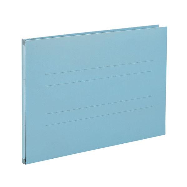 (まとめ) セキセイ のびーるファイル(エスヤード)B4ヨコ 800枚収容 背幅17~97mm ブルー AE-61F 1冊 【×30セット】