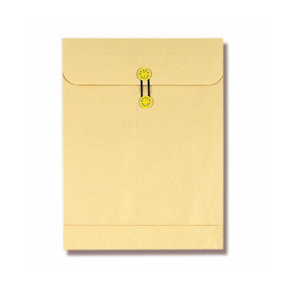 (まとめ) ピース マチ・ヒモ付保存袋 クラフト角0 120g 173-30 1パック(10枚) 【×10セット】