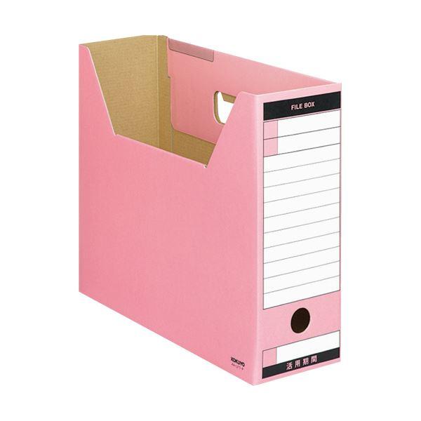 (まとめ) コクヨファイルボックス-FS(Tタイプ) A4ヨコ 背幅102mm ピンク A4-LFT-P 1冊 【×30セット】