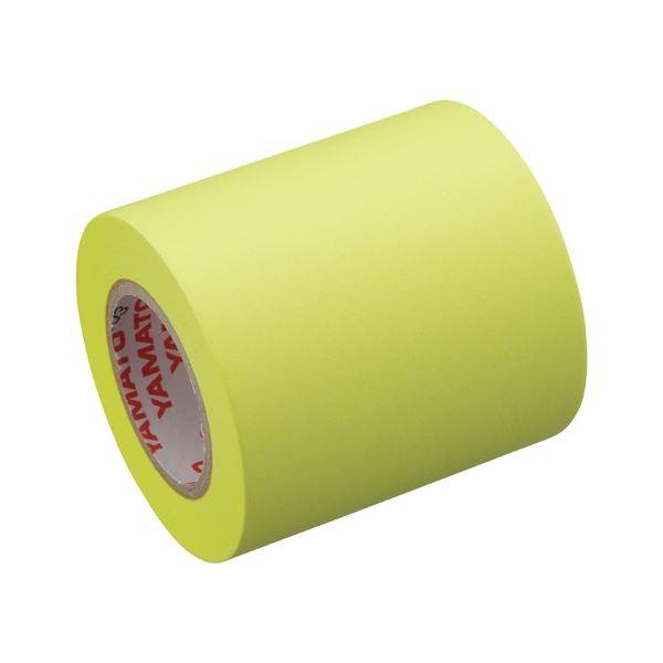 (まとめ) ヤマト メモック替テープ蛍光レモンRK-50H-LE【×30セット】