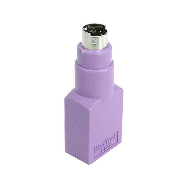 (まとめ) StarTech USBキーボード対応USB-PS/2変換アダプタ USB A(メス)-PS/2(オス) GC46FMKEY 1個 【×30セット】