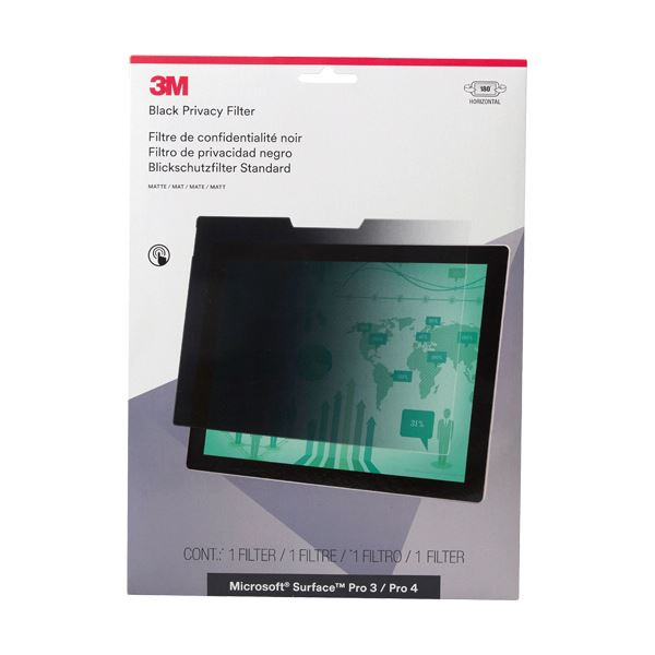 3M セキュリティプライバシーフィルター Microsoft Surface Pro 3・Pro 4専用 PFTMS001 1枚