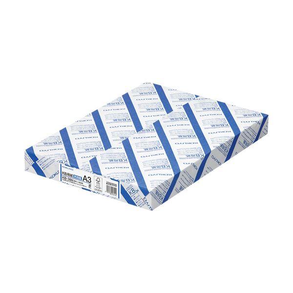 (まとめ) コクヨ KB用紙(共用紙) A3KB-38N 1箱(1500枚:500枚×3冊) 【×5セット】