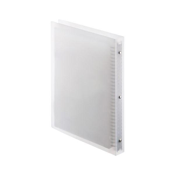 (まとめ) サンワサプライブルーレイディスク対応A4リフィルケース A4タテ 30穴 最大48枚収納 クリア FCD-RLBD18CL1個 【×10セット】