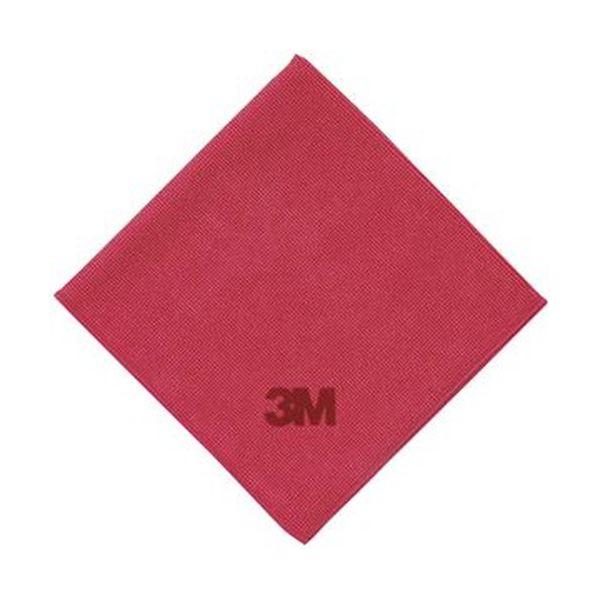 No.2012 スコッチ・ブライトワイピングクロス RED 1パック(10枚)【×5セット】 赤 (まとめ)3M WC2012