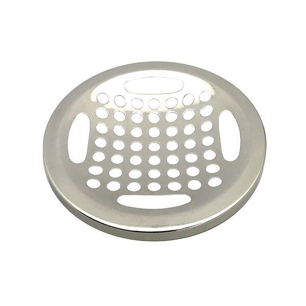 (まとめ) 排水口カバー/キッチン用品 【流し用 ステンレス目皿】 直径145mm用 標準サイズ 【×40個セット】