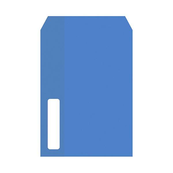 (まとめ)PCA 単票給与明細書用窓付封筒 215×153mm テープ付 PA1112F 1箱(500枚)【×3セット】