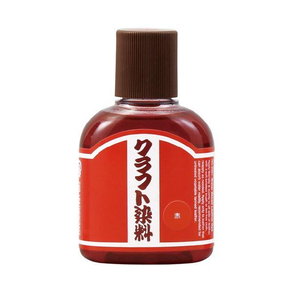 (まとめ)クラフト染料 100mL 赤18-3208【×30セット】