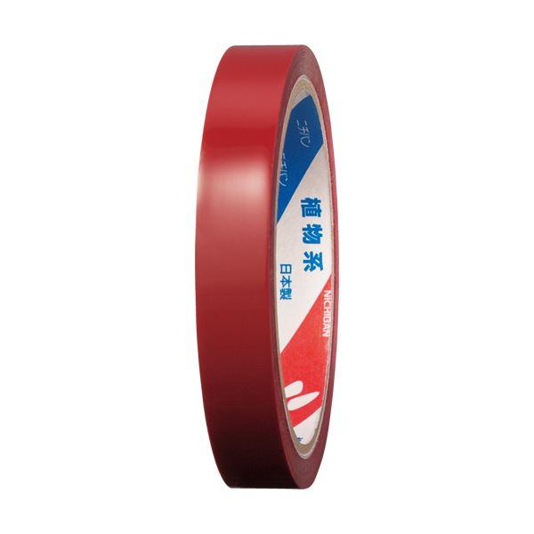 (まとめ) ニチバン 産業用セロテープ No.43015mm×35m 赤 4301-15 1巻 【×50セット】