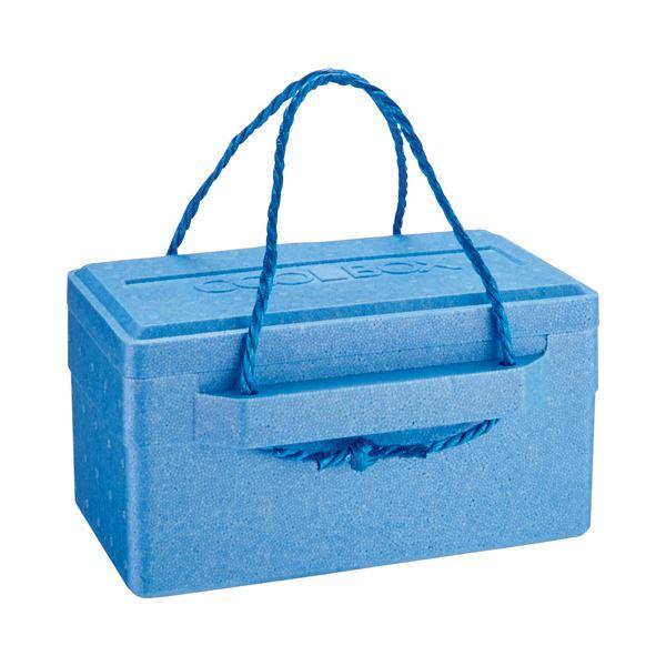 (まとめ) 石山 発泡クールボックス 9.4L ブルー TI-100P 1個 【×10セット】
