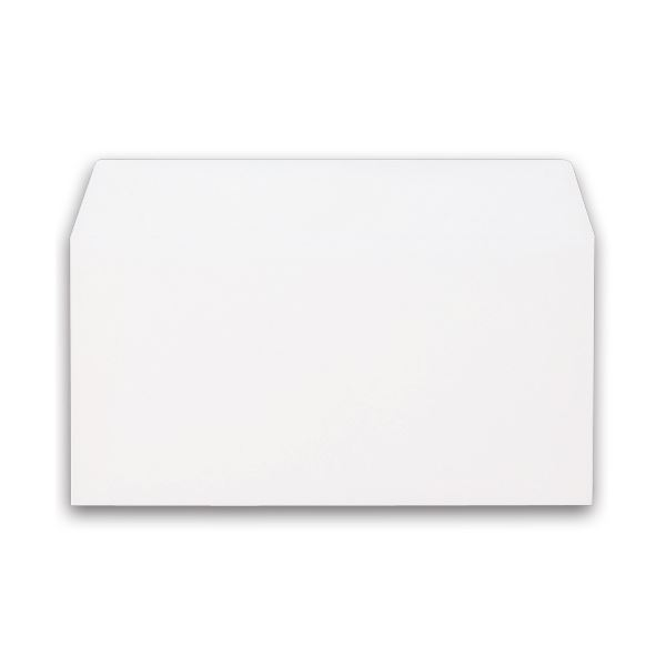 (まとめ) キングコーポレーション ソフトカラー封筒 のり付 洋0(洋長3) 100g/m2 ホワイト 162027 1パック(100枚) 【×10セット】