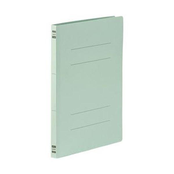 (まとめ)TANOSEE フラットファイルPPラミネート表紙タイプ A4タテ 150枚収容 背幅17.5mm ブルー 1パック(10冊)【×20セット】