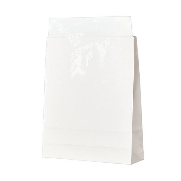 (まとめ)TANOSEE 宅配袋 PPフィルム加工小 白 封かんテープ付 1パック(100枚)【×3セット】