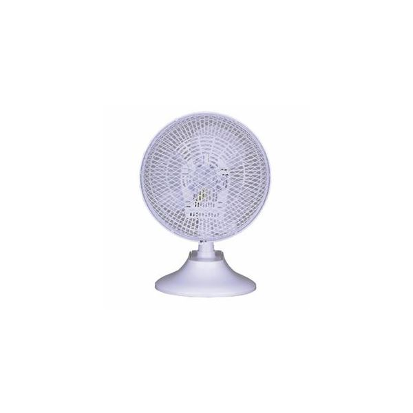 アイリスオーヤマ ネオーブ 卓上クリップ扇風機 ホワイト NFS18-C19W