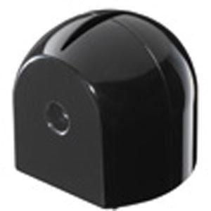 (まとめ) ロールペーパーホルダー/トイレットペーパーホルダー 【ブラック】 シンプル トイレ収納 【×36個セット】