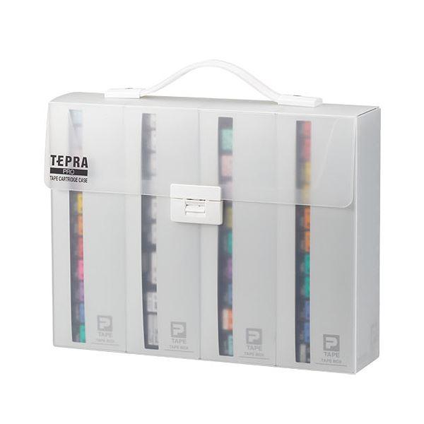 キングジム テプラ PRO テープカートリッジケース 約W317×D70×H245mm SR4TH 1個 【×10セット】