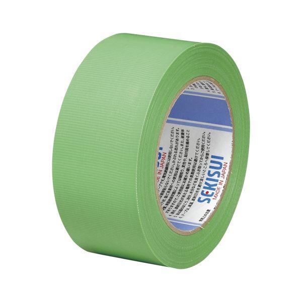 (まとめ) 積水 スパットライトテープNo.733 50mm×50m 緑【×20セット】