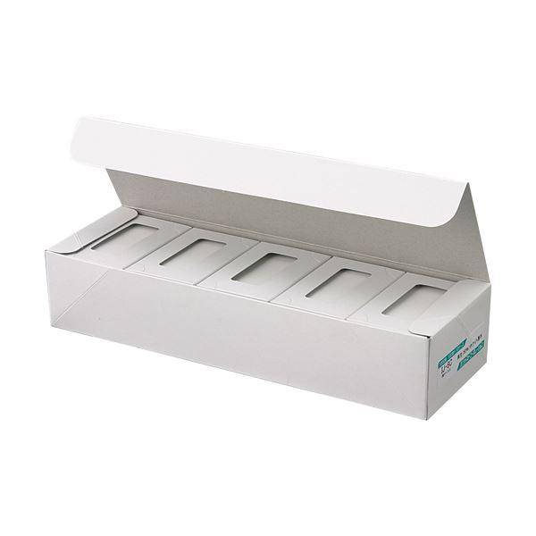 (まとめ) ジャストコーポレーション カラーIJ専用名刺用紙 ホワイト 厚手 IJ-8C 1セット(1000枚:100枚×10箱) 【×5セット】