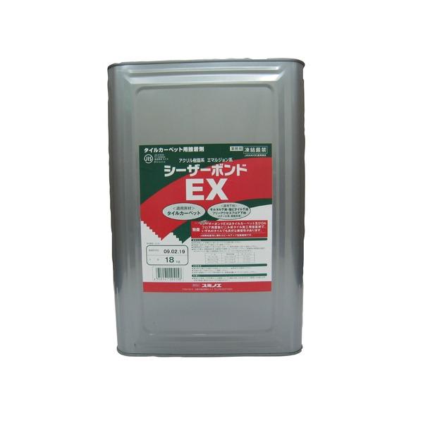 【スミノエ】 タイルカーペット用 接着剤 シーザーボンド 18kg缶 〔DIY リノベーション リフォーム 内装工事〕【代引不可】