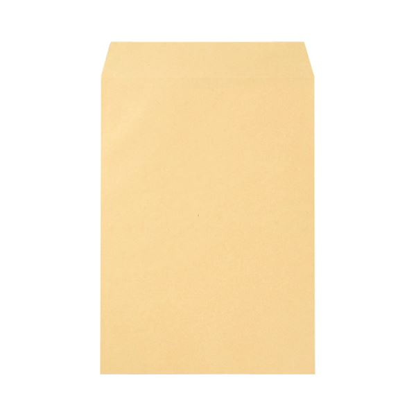 (まとめ) 寿堂 FSCクラフト封筒 角2 85g/m2 526 1パック(100枚) 【×10セット】