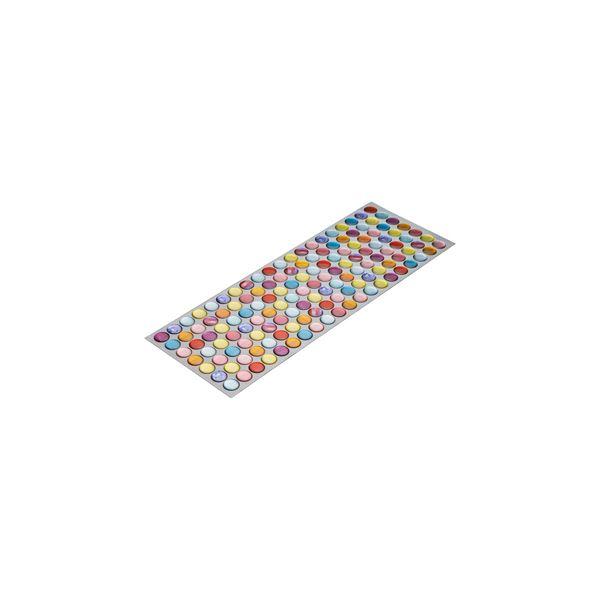 (まとめ) モザイクタイルシール/リメイクシート 【クリアキャンディ】 シールタイプ 水に強い DIY 模様替え 【×160個セット】