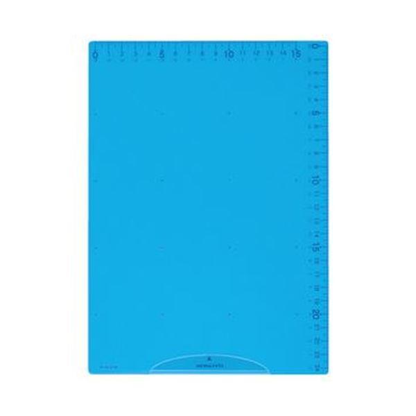 (まとめ)コクヨ 下敷き(まなびすと)ブルーGY-GCg 100B 1セット(10枚)【×10セット】