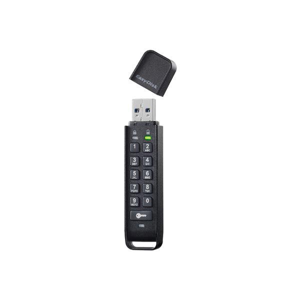 アイ・オー・データ機器 パスワードボタン付き セキュリティUSBメモリー 32GB ED-HB3/32G