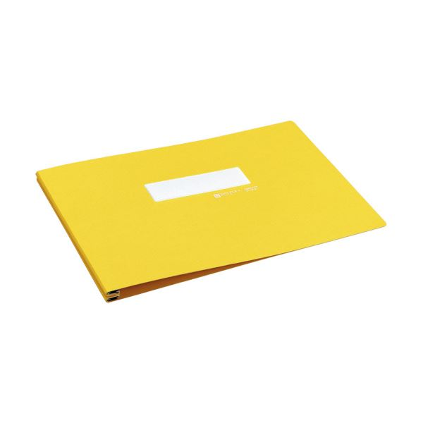 コクヨ データファイルA バースト用T6~11×Y15 1000枚収容 黄 EF-251ENY 1セット(10冊)