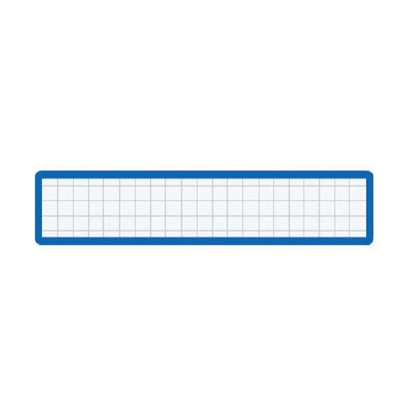 (まとめ)コクヨ マグネット見出しカード寸法19×105mm 青 マク-411B 1セット(10個)【×5セット】
