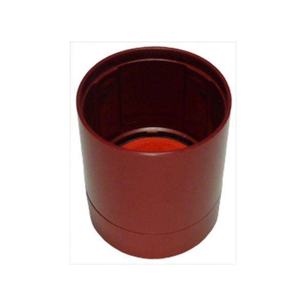 (まとめ) シヤチハタ データーネームEX15号レッド キャップ 赤 XGL-15PC1-R 1個 【×50セット】