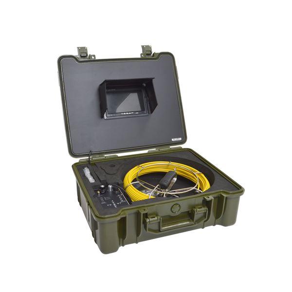 サンコー 配管用内視鏡スコープpremier30Mメーターカウンター付き CARPSCA31