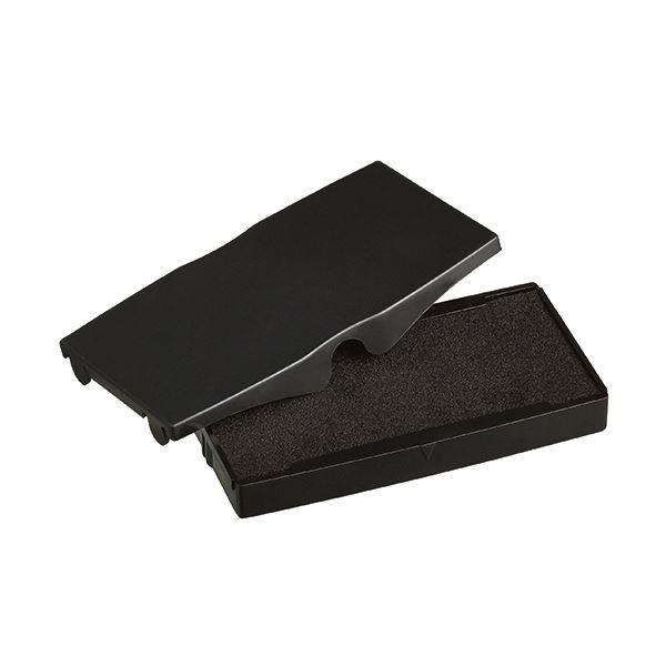 (まとめ) シャイニー スタンプ内蔵型角型印S-854専用パッド 黒 S-854-7B 1個 【×30セット】