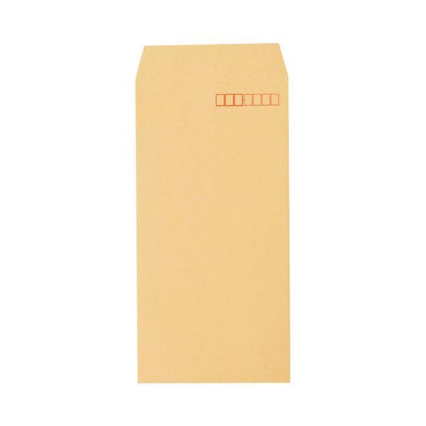 (まとめ) ピース R40再生紙クラフト封筒 テープのり付 長3 70g/m2 〒枠あり 4370 1パック(100枚) 【×30セット】