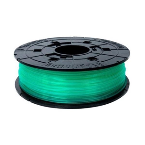 (まとめ)XYZプリンティングジャパン ダヴィンチJr. 専用 フィラメント(PLA樹脂) クリアグリーン 600g RFPLCXJP04B 1個【×3セット】