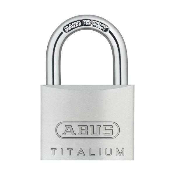 (まとめ) アバス 南京錠 タイタリウム 64TI 40mm 64TI/40KD 1個 【×10セット】