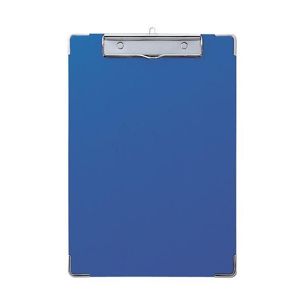 (まとめ) セキセイ カラー用箋挟 A4タテ Y-56C-10ブルー 1枚 【×30セット】