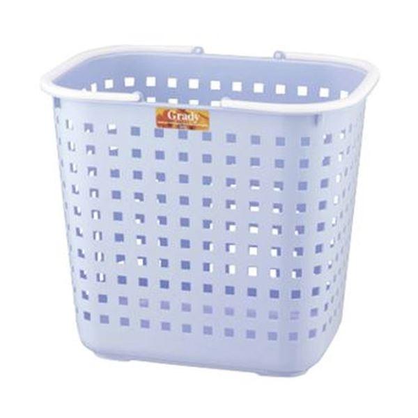 (まとめ)アスベル グレディバスケット L ブルー 1個【×20セット】