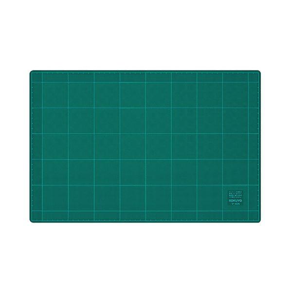 (まとめ) コクヨ カッティングマット 両面用300×450×3mm マ-42N 1枚 【×10セット】