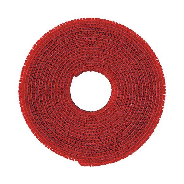 (まとめ)クラレトレーディング マジックバンドCP-09 赤【×30セット】