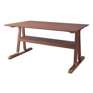 ダイニングテーブル ブラウン【代引不可】