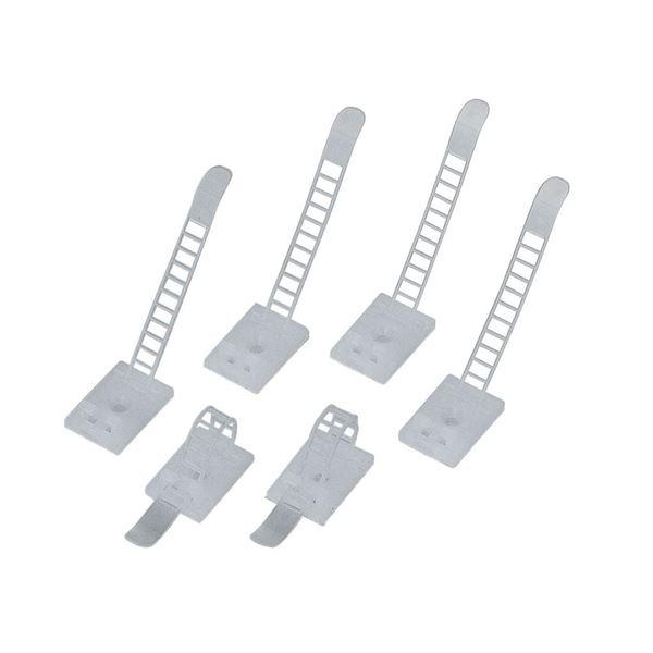 (まとめ) エレコム ケーブル結束ベルト LD-CUC18 1パック(6本) 【×30セット】