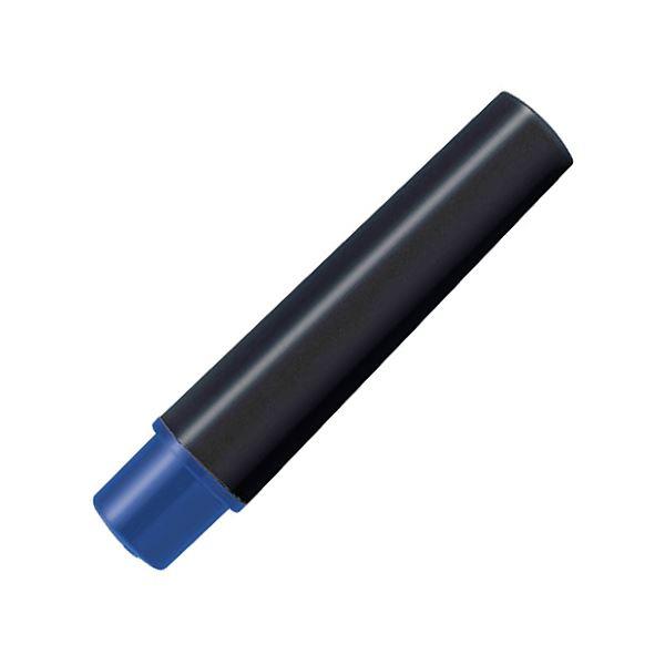 (まとめ) ゼブラ 水性マーカー紙用マッキー(太+細)用インクカートリッジ 青 RWYT5-BL 1パック(2本) 【×100セット】