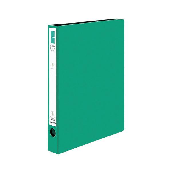 (まとめ)コクヨ リングファイル(ER・PP表紙)A4タテ 2穴 220枚収容 背幅39mm 緑 フ-UR430NG 1冊 【×20セット】